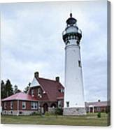 Seul Choix Point Lighthouse Canvas Print