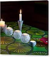 Seven Candles Canvas Print