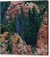 Seven Falls Mountain's Colorado Canvas Print