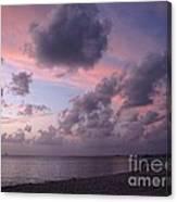 Seven Mile Beach Sunset Canvas Print