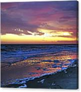 Seven Minutes On The Beach Canvas Print