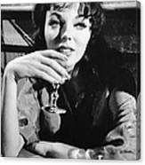 Seven Thieves, Joan Collins, 1960 Canvas Print