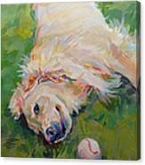 Seventh Inning Stretch Canvas Print