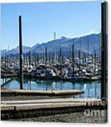 Seward Alaska Bay Canvas Print