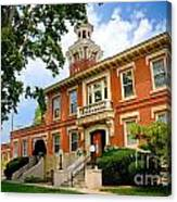 Sewickley Pennsylvania Municipal Hall Canvas Print