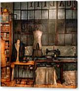 Sewing - Industrial - Quality Linens  Canvas Print