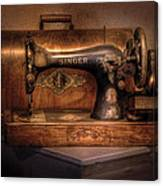 Sewing Machine  - Singer  Canvas Print