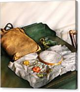 Sewing - Needle Point  Canvas Print