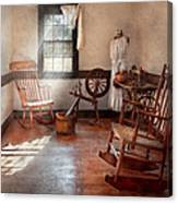 Sewing - Room - Grandma's Sewing Room Canvas Print