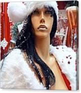 Sexy Santa Canvas Print