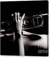 Sexy Trumpet Canvas Print