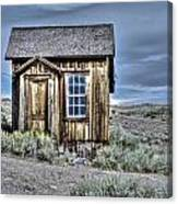Shack At Bodie Canvas Print