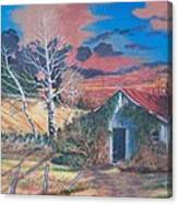 Shack Of Yesteryear Canvas Print