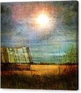 Shack On The Prairie Corner  Canvas Print