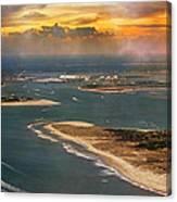Shackleford Banks Fort Macon North Carolina Canvas Print