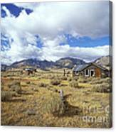Shacks On 395 Canvas Print