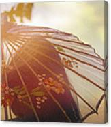 Shaded From The Sun Canvas Print