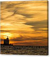 Shades Of Dawn Canvas Print