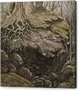 Shades Of Froud Canvas Print