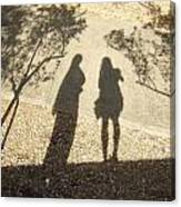 Shadow Friends Canvas Print