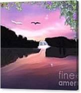 Shadow Lake Canvas Print