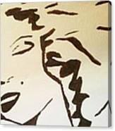 Shadow Monroe Canvas Print