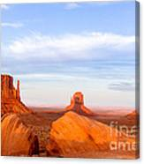 Shadow Of The Past Canvas Print