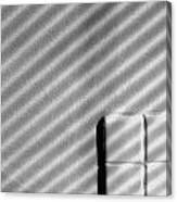 Shadow Pattern Canvas Print