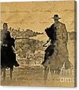 Shadow Riders Canvas Print