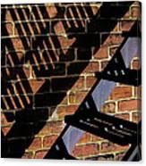 Shadow Walker Canvas Print