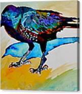 Shadowland Visitor Canvas Print