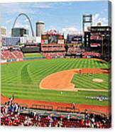 Shadows At Busch Canvas Print