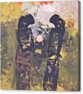 Shadows II By Bagong Kussudiardja Canvas Print