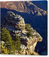Shadows In The Canyon Canvas Print