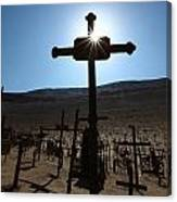 Shadows Of Death In The Desert 2 Canvas Print