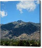 Shadows Of San Gabriel Canvas Print