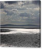 Shadows Over The Sea Canvas Print