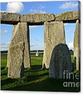 Shadowy Stonehenge Canvas Print