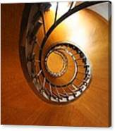 Shaft Staircase Canvas Print
