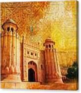 Shahi Qilla Or Royal Fort Canvas Print