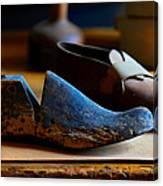 Shaker Shoe Last Canvas Print
