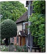 Shakespeare's Back Garden Canvas Print