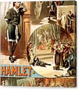 Shakespeare's Hamlet 1884 Canvas Print