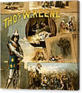 Shakespeare's Richard IIi 1884 Canvas Print