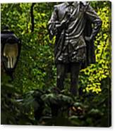 Shakespeare In Central Park Canvas Print