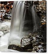 Shale Creek Waterfall Canvas Print