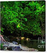 Shall We Gather At The River Canvas Print