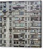 Shanghai Homes Canvas Print
