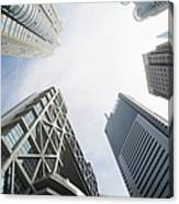 Shanghai Stock Exchange,china - East Canvas Print