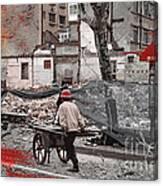 Shanghai Street Creation Canvas Print